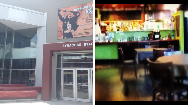 Theater ⇨ Vegetarian / vegan restaurant
