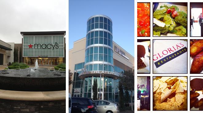 Mall ⇨ Catch a movie ⇨ Latin american restaurant