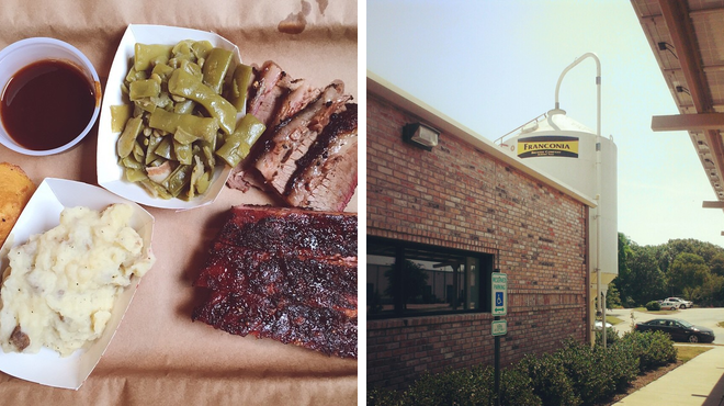 Bbq joint ⇨ Brewery