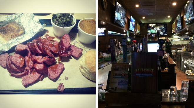 Bbq joint ⇨ Bar
