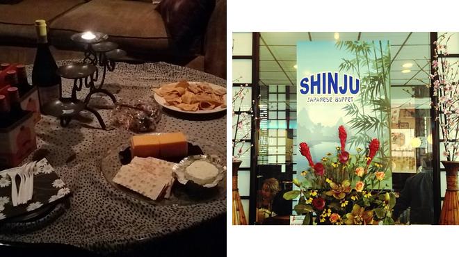 Couple's Massage ⇨ Japanese restaurant