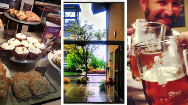 Bakery ⇨ Plaza ⇨ Pub