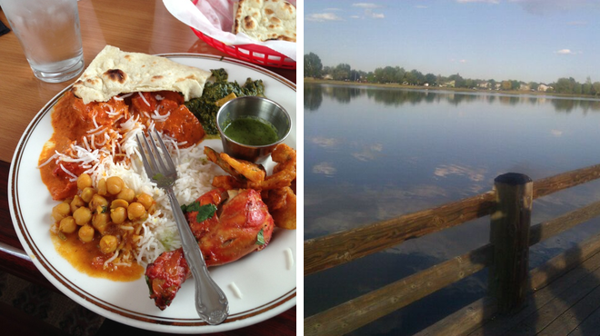 Indian restaurant ⇨ Lake
