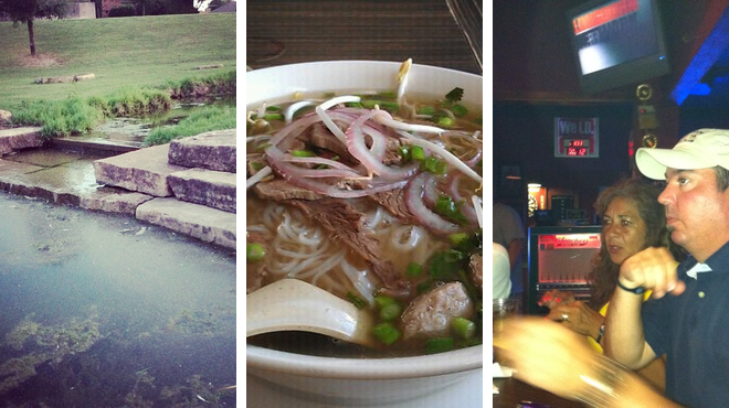 Trail ⇨ Vietnamese restaurant ⇨ Sports bar