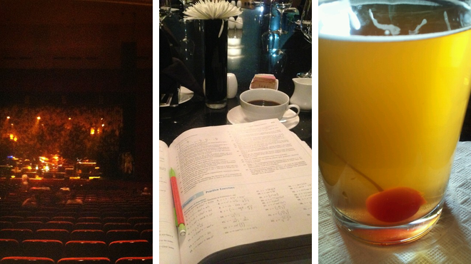 Theater ⇨ American restaurant ⇨ Brewery