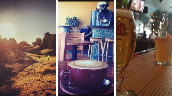 Trail ⇨ Coffee shop ⇨ Lounge
