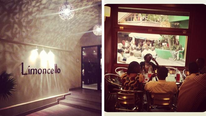 Italian restaurant ⇨ Bar