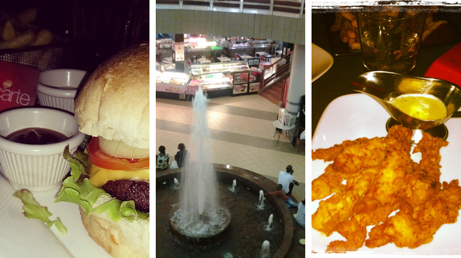American restaurant ⇨ Mall ⇨ Lounge
