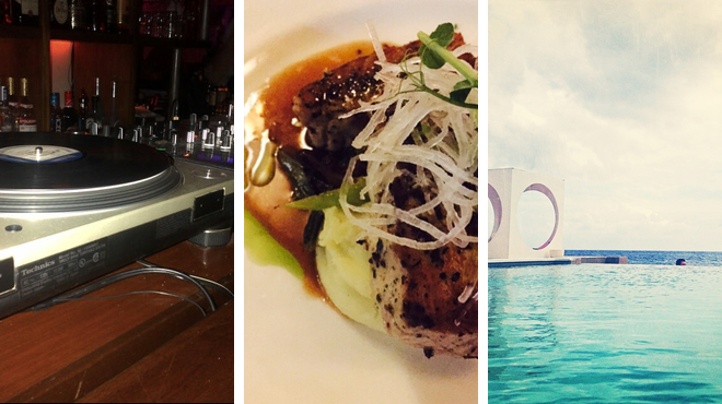 Jazz club ⇨ Caribbean restaurant ⇨ Lounge