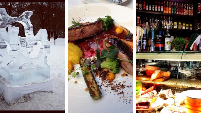 Park ⇨ Eastern european restaurant ⇨ Wine bar
