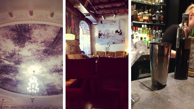 Theater ⇨ Café ⇨ Delicious Cocktails