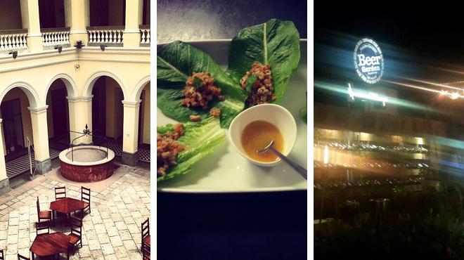 Experience exhibits ⇨ Thai restaurant ⇨ Delicious Cocktails