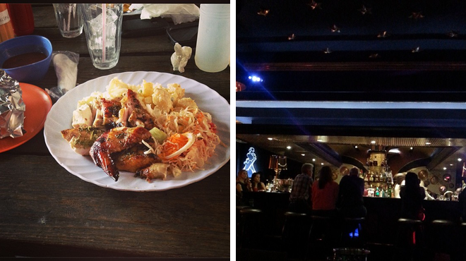 Bbq joint ⇨ Hotel bar