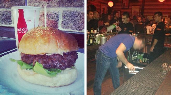 Burger joint ⇨ Bar