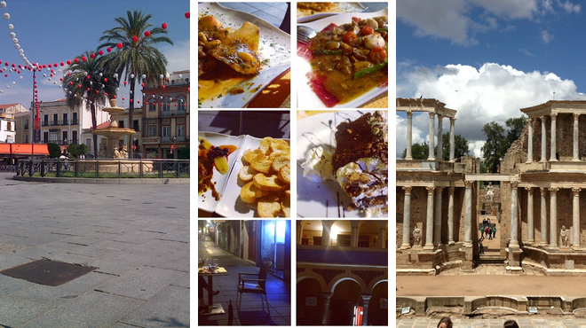 Plaza ⇨ Spanish restaurant ⇨ Learn about history