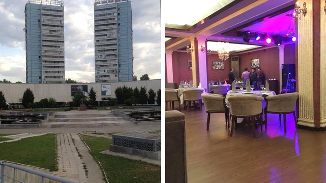 Plaza ⇨ French restaurant