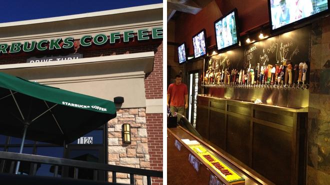 Coffee shop ⇨ Pub