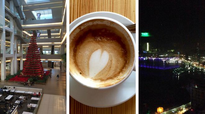 Mall ⇨ Café ⇨ Bar