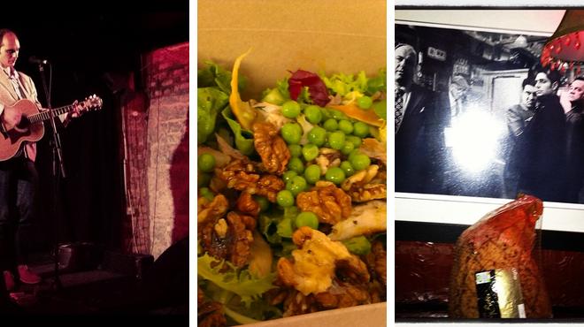 Music venue ⇨ Restaurant ⇨ Bar