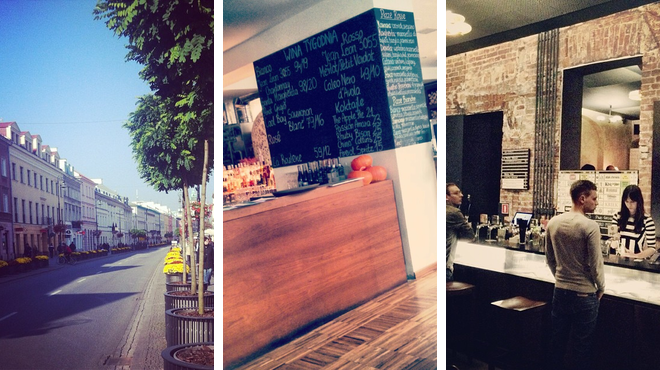 Street ⇨ Pizza place ⇨ Bar