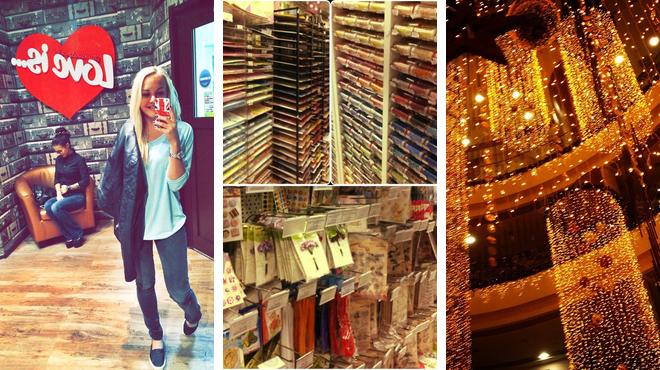 Restaurant ⇨ Hobby shop ⇨ Mall