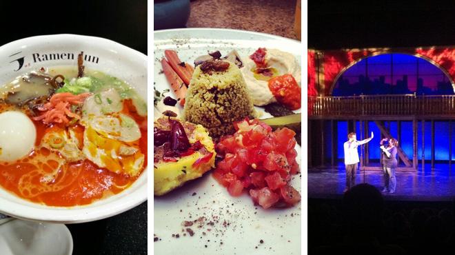 Ramen restaurant ⇨ Restaurant ⇨ Theater