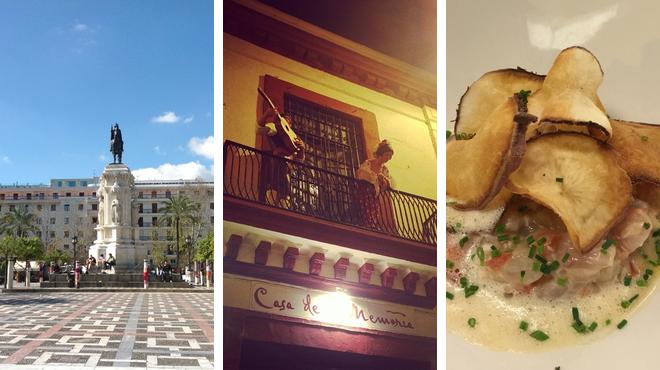 Plaza ⇨ Performing arts venue ⇨ Tapas restaurant