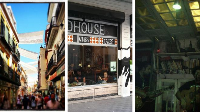 Street ⇨ Café ⇨ Bar
