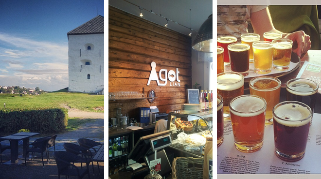 Castle ⇨ Scandinavian restaurant ⇨ Brewery