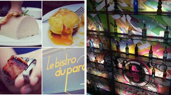 French restaurant ⇨ Nightclub
