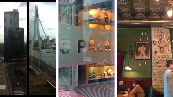 Theater ⇨ Seafood restaurant ⇨ Bar