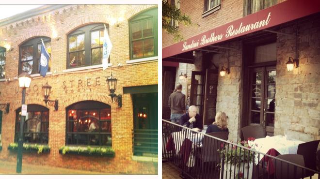 Italian restaurant ⇨ Pub