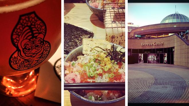 Mall ⇨ Sushi restaurant ⇨ Bar