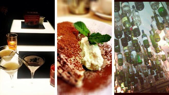 Piano bar ⇨ Italian restaurant ⇨ Bar