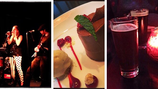 Jazz club ⇨ Restaurant ⇨ Bar