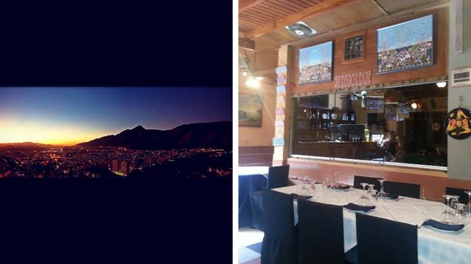 Scenic Views ⇨ Italian restaurant