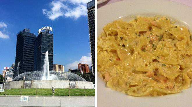 Plaza ⇨ Italian restaurant