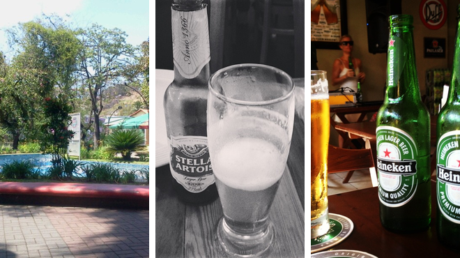 Park ⇨ Brazilian restaurant ⇨ Bar
