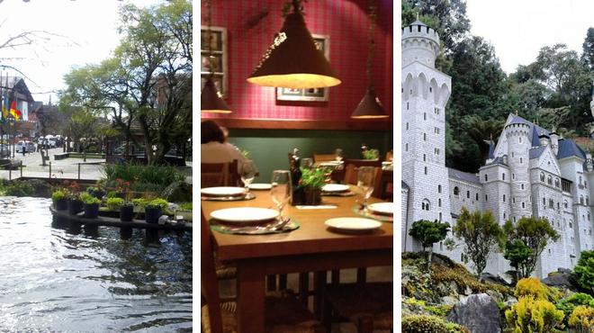 Plaza ⇨ Italian restaurant ⇨ Theme park