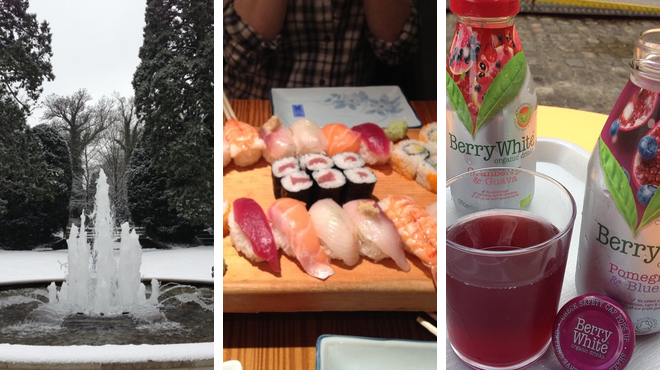 Park ⇨ Japanese restaurant ⇨ Learn about history