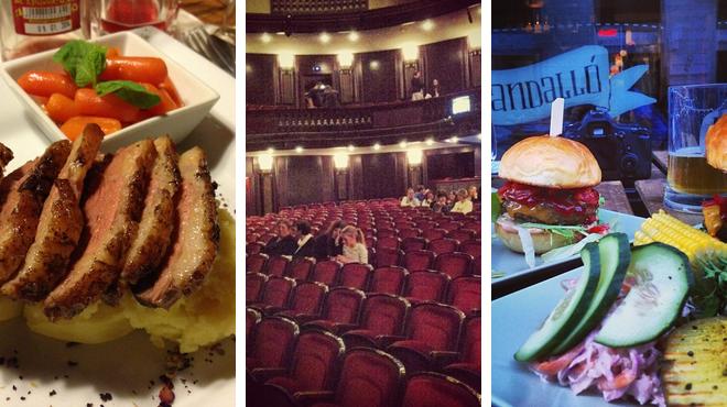 Restaurant ⇨ Theater ⇨ Pub