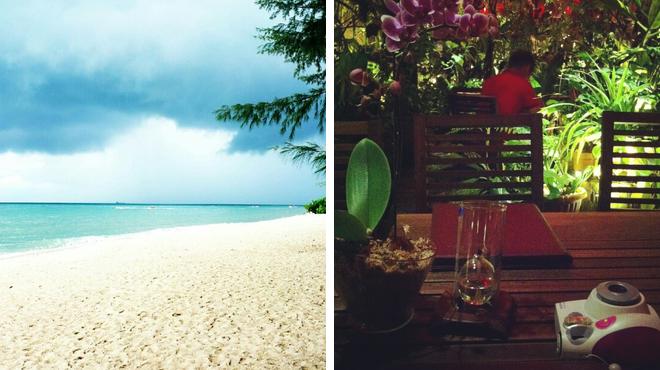 Beach ⇨ Seafood restaurant