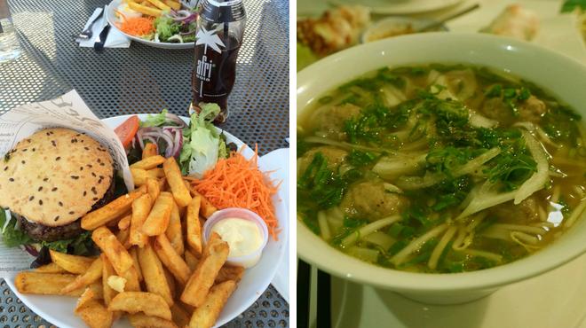 Performing arts venue ⇨ Vietnamese restaurant
