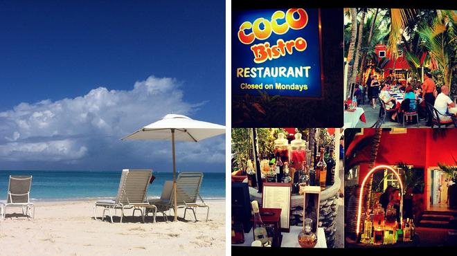 Beach ⇨ Caribbean restaurant