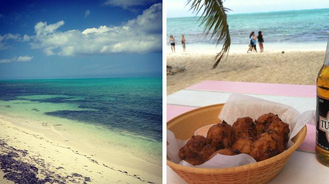 Island ⇨ Seafood restaurant