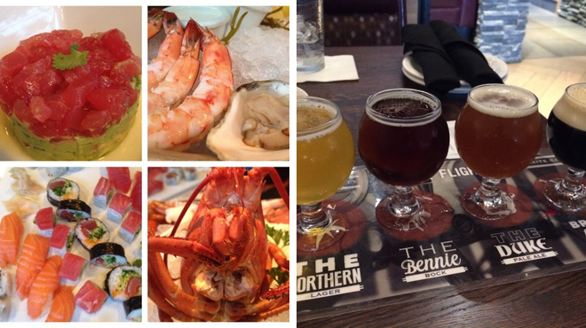 Seafood restaurant ⇨ Brewery