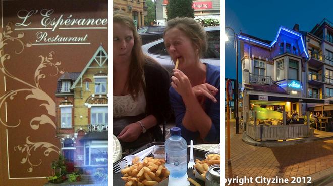 Belgian restaurant ⇨ Friterie ⇨ Bar