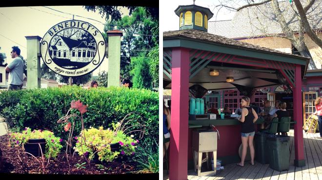 Breakfast spot ⇨ Beer garden