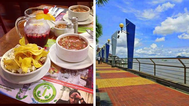 Latin american restaurant ⇨ Scenic Views
