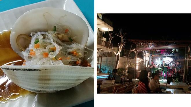 Seafood restaurant ⇨ Beach bar